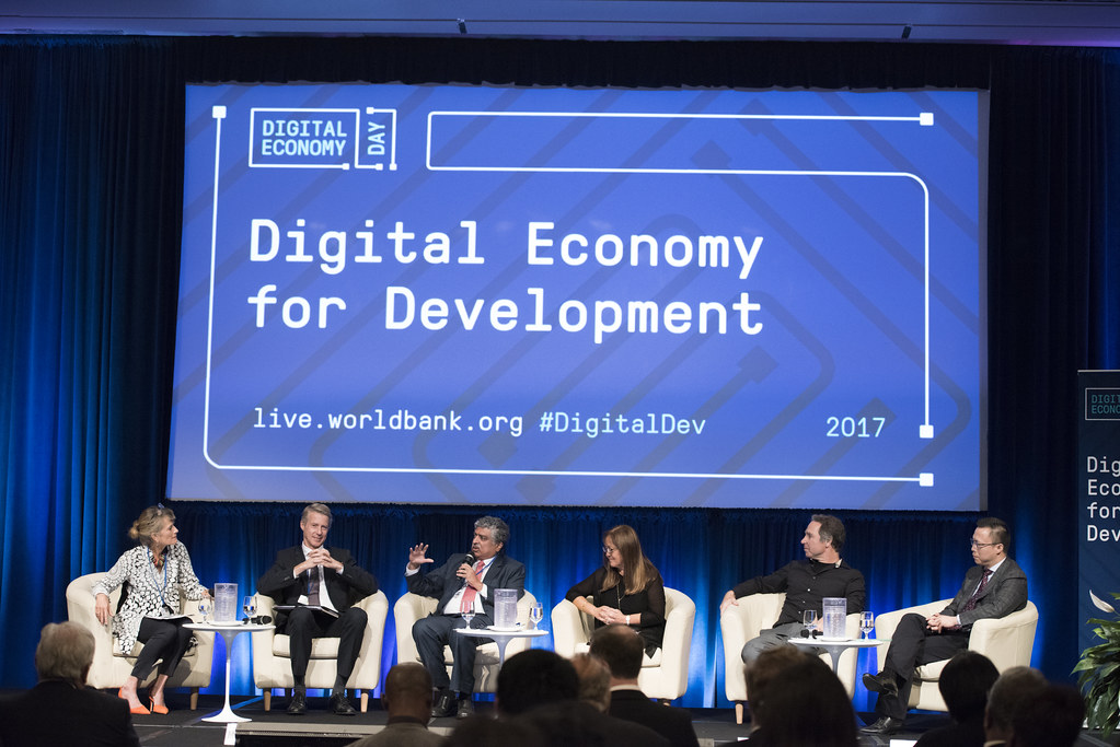 Lessons from COVID-19 : The importance of a digital globaleconomy